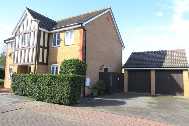 Thumbnail Detached house for sale in Stagshaw Grove, Emerson Valley, Milton Keynes