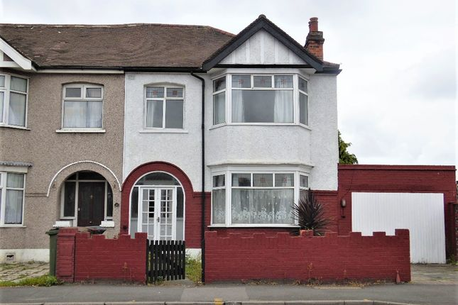 Thumbnail End terrace house to rent in Salisbury Hall Gardens, Chingford, London