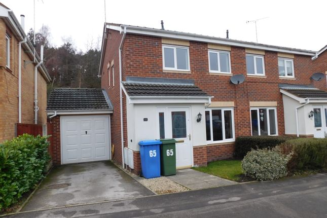 Thumbnail Semi-detached house to rent in Millrise Road, Mansfield