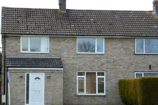 Thumbnail Semi-detached house to rent in Lakeside Rise, Blundeston, Lowestoft