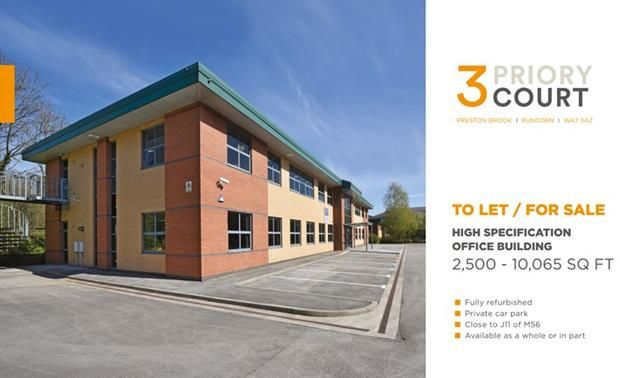 Thumbnail Office to let in 3 Priory Court, Wellfield, Preston Brook, Runcorn