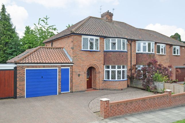 Thumbnail Semi-detached house for sale in Windmill Rise, York
