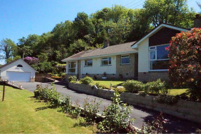 Thumbnail Detached bungalow for sale in Milltown, Barnstaple
