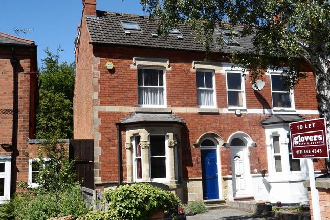 Thumbnail Semi-detached house to rent in 36 Livingstone Road, Kings Heath