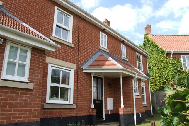 Thumbnail Terraced house to rent in Earnshaw Court, Thorpe St. Andrew, Norwich