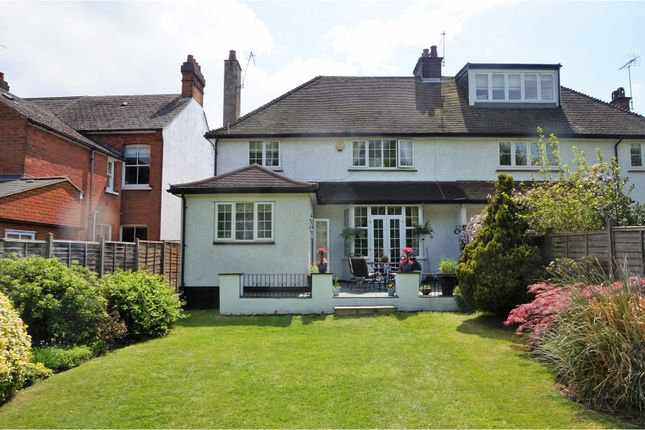 3 Bed Semi Detached House For Sale In Park Road Radlett