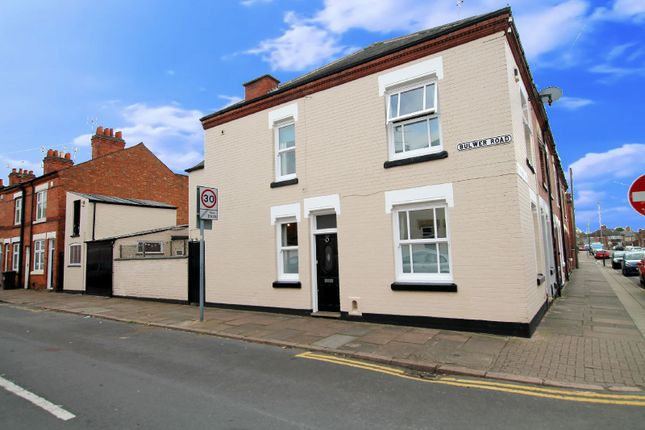 Thumbnail End terrace house for sale in Bulwer Road, Clarendon Park, Leicester