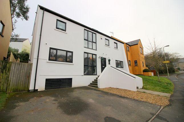 Thumbnail Detached house for sale in Duffryn Oaks Drive, Pencoed, Bridgend.