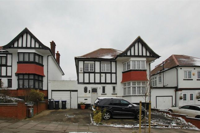 Thumbnail Detached house for sale in Barn Rise, Wembley