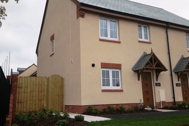 Thumbnail Semi-detached house for sale in Plot 1, Seaward Park, Clyst St George, Devon