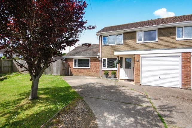 Thumbnail Semi-detached house for sale in Windmill Close, Ryde