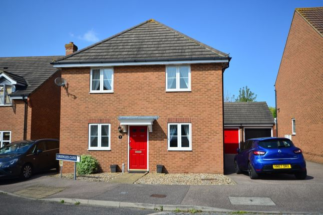 Thumbnail Detached house to rent in Greenlees Close, Sittingbourne
