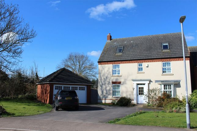 Thumbnail Detached house to rent in Hyde Lane, Creech St Michael, Taunton