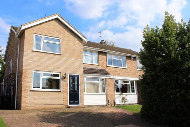 Thumbnail Semi-detached house for sale in Springfield Road, Ash Vale