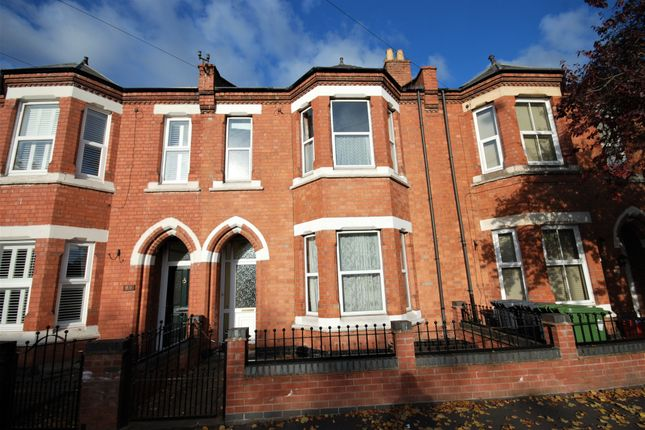 Thumbnail Terraced house to rent in Willes Road, Leamington Spa, Warwickshire