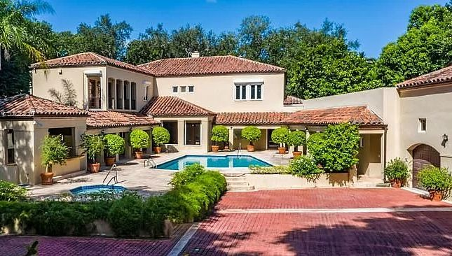 Thumbnail Town house for sale in 9400 Old Cutler Ln, Coral Gables, Fl 33156, Usa