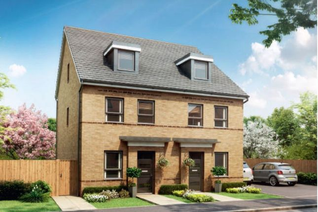 Thumbnail Semi-detached house for sale in Southern Cross, Wixams, Bedford