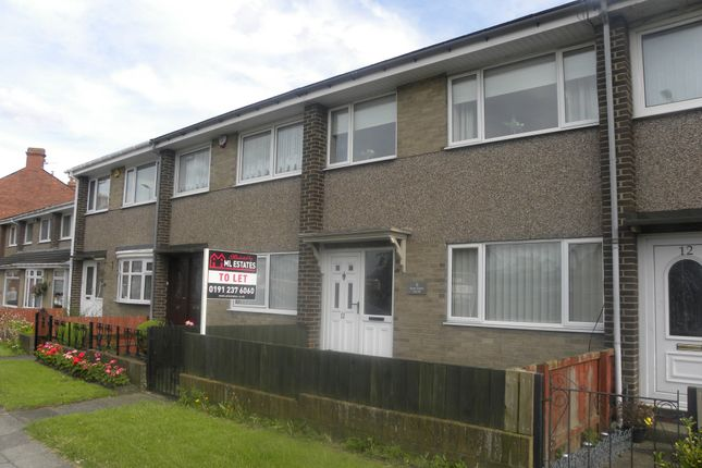 3 bed terraced house to rent in Main Street South, Seghill, Cramlington