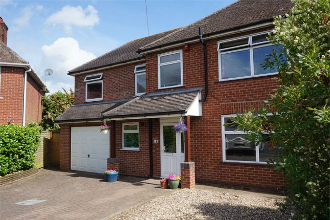 Thumbnail Semi-detached house for sale in Paddock Road, Newbury