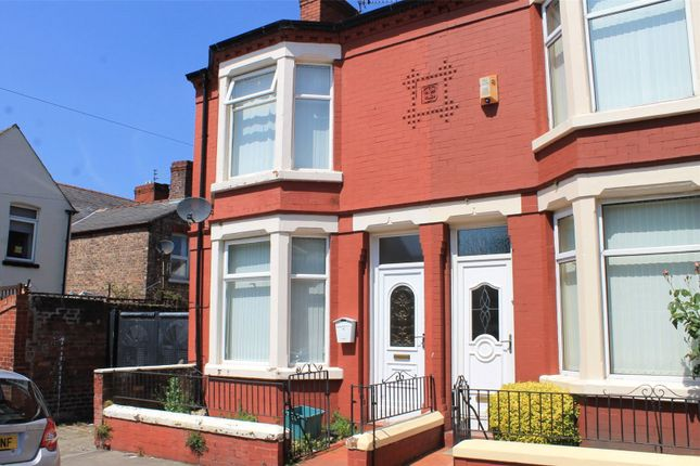 Thumbnail End terrace house to rent in Warwick Road, Bootle