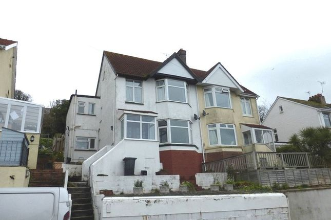 Thumbnail Flat to rent in Langdon Road, Preston, Paignton