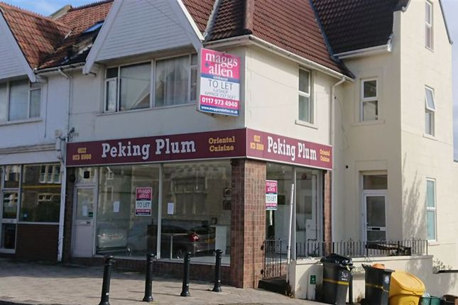 Thumbnail Restaurant/cafe to let in Coldharbour Road, Redland, Bristol