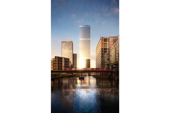 Thumbnail Flat for sale in 66.10 The Landmark Pinnacle, Westferry Road, Isle Of Dogs, London