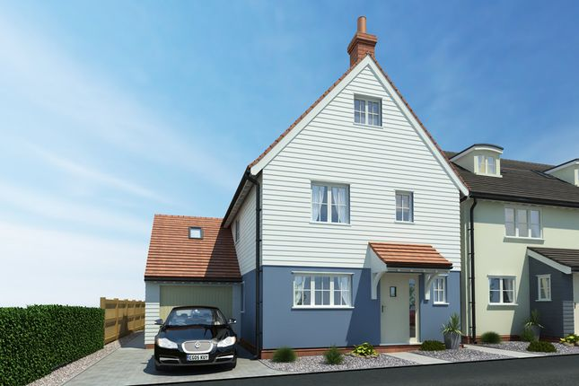 Thumbnail Detached house for sale in Dunmow Road, Little Canfield, Dunmow
