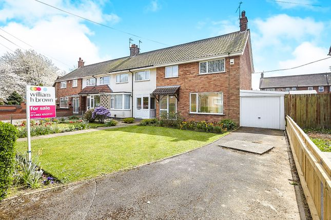 Thumbnail End terrace house for sale in Burton Road, Cottingham