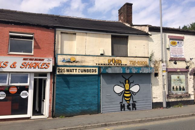 Retail premises for sale in Water Street, Radcliffe, Greater Manchester