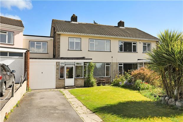 Thumbnail Semi-detached house for sale in Bowden Close, Coombe Dingle, Bristol