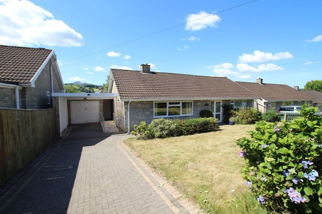 Thumbnail Detached bungalow for sale in Camden Crescent, Brecon
