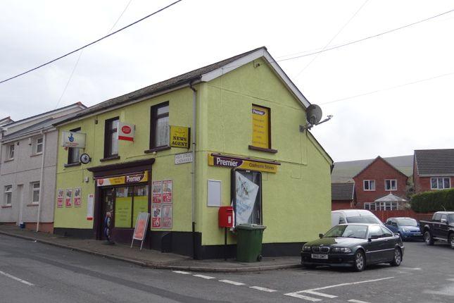 Thumbnail Retail premises for sale in High Street, Caeharris, Merthyr Tydfil