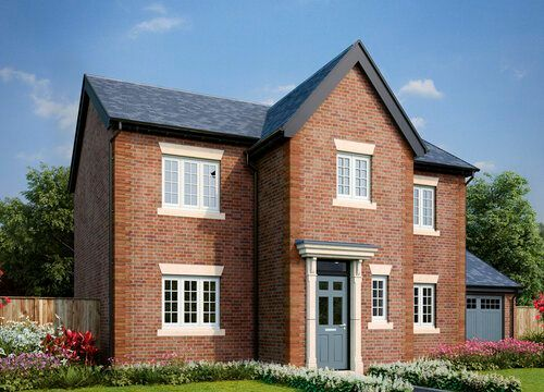 Thumbnail Detached house for sale in Whitchurch Road, Aston, Nantwich