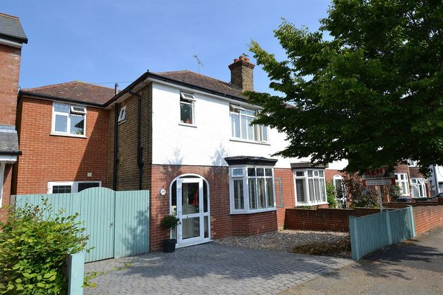 Thumbnail Semi-detached house for sale in Graystone Road, Whitstable