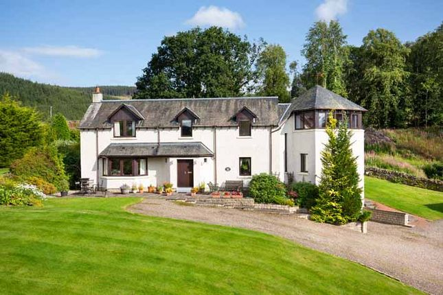 Thumbnail 5 bed detached house for sale in Upland House, Traquair, Innerleithen