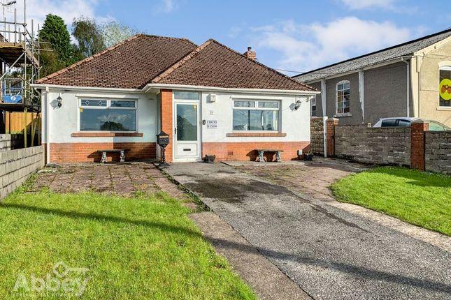 Thumbnail Detached bungalow for sale in Cimla Common, Cimla, Neath