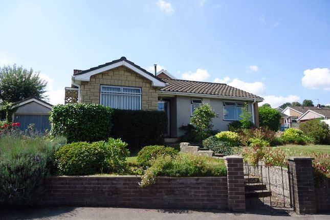 Thumbnail Detached bungalow for sale in Orchard Close, Gilwern, Abergavenny