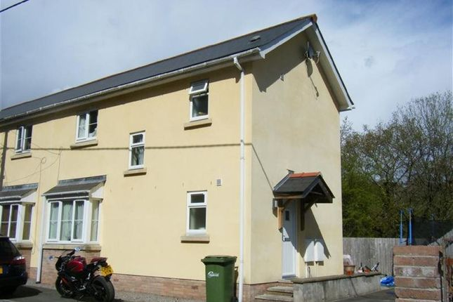 Thumbnail Property to rent in High Street, Argoed, Blackwood