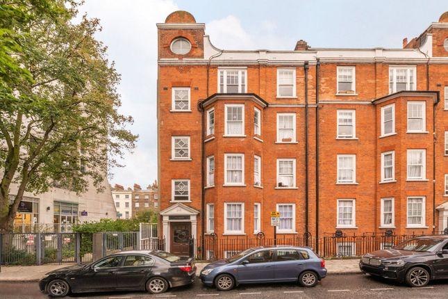 Exterior of Robsart Mansions, Kenton Street, London WC1N