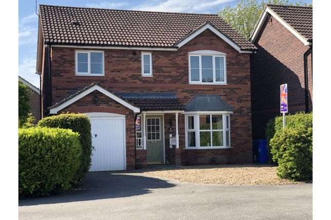 Thumbnail Detached house for sale in The Hawthorns, Long Riston