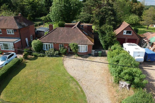 Thumbnail Detached bungalow for sale in Bramley Road, Pamber End, Tadley