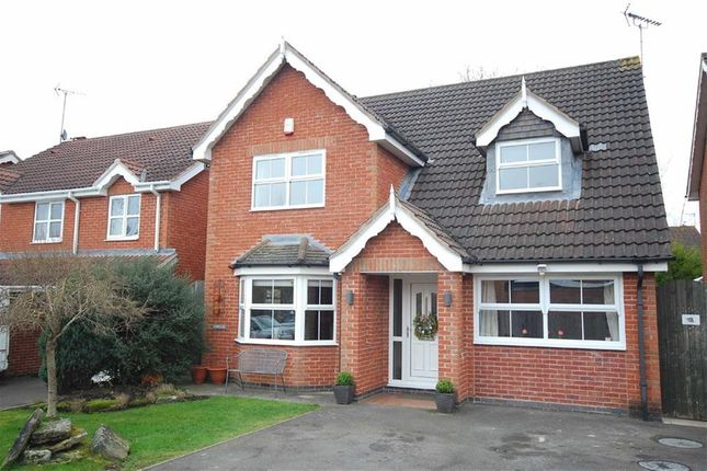 Thumbnail Detached house for sale in Larkfields Crescent, Swanwick, Alfreton