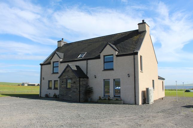 Thumbnail Detached house for sale in Gorseness Road, Rendall, Orkney