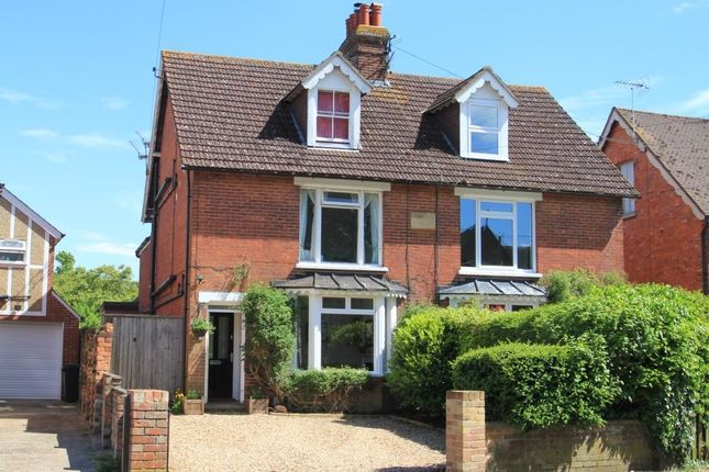 Thumbnail Semi-detached house for sale in Fern Lea Villas, Goudhurst Road, Marden, Kent