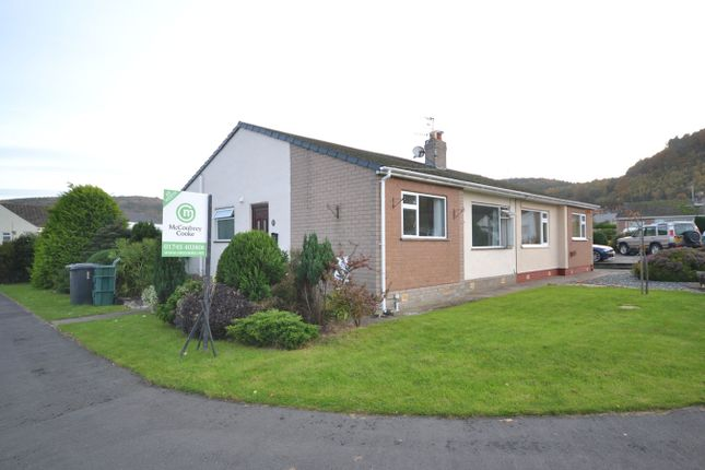 Thumbnail Semi-detached bungalow for sale in Coed Gwern, Abergele