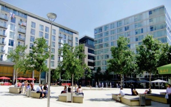 Thumbnail Flat for sale in Milton Keynes Apartments, Avebury Boulevard, Milton Keynes