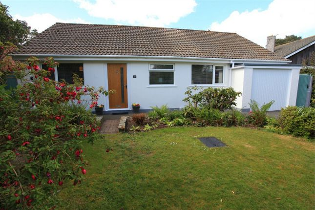 Thumbnail Detached bungalow for sale in Chatsworth Way, Carlyon Bay, St Austell, Cornwall
