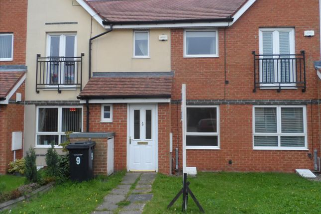 Thumbnail Terraced house to rent in Coneygarth Place, Ashington
