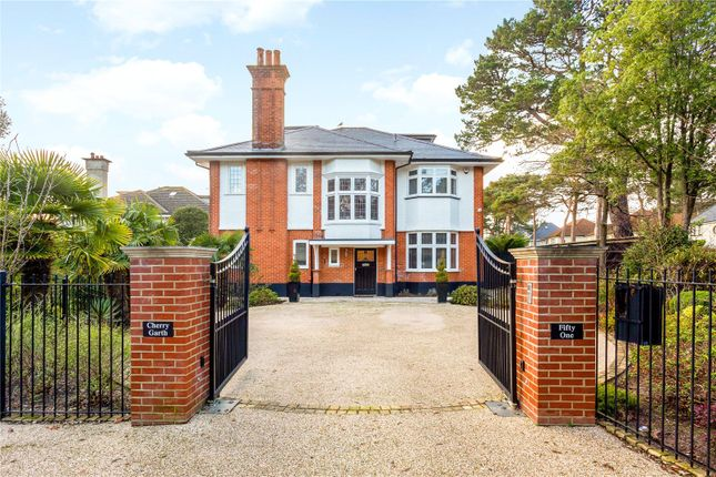 Thumbnail Detached house for sale in Cliff Drive, Canford Cliffs, Poole, Dorset